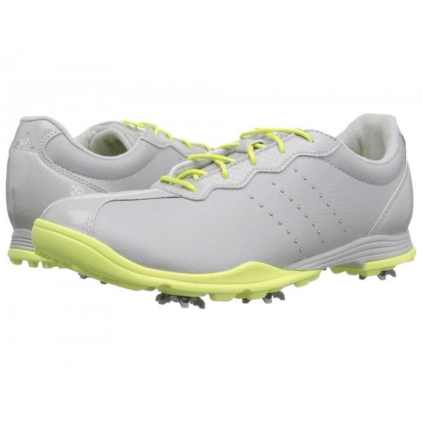 adidas Golf Adipure DC Grey One/Silver Metallic/Semi Frozen Yellow