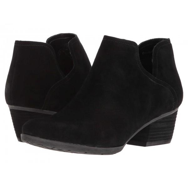 Victoria Waterproof Black Suede