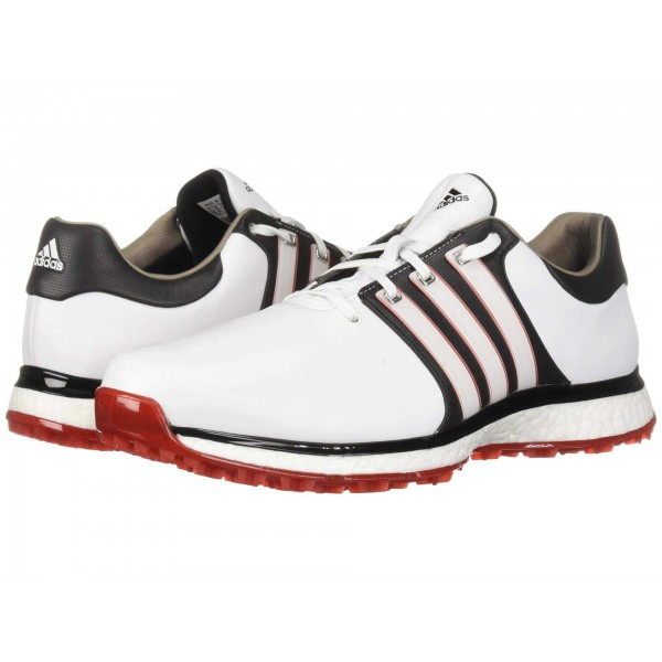 Tour360 XT Spikeless Footwear White/Core Black/Scarlet