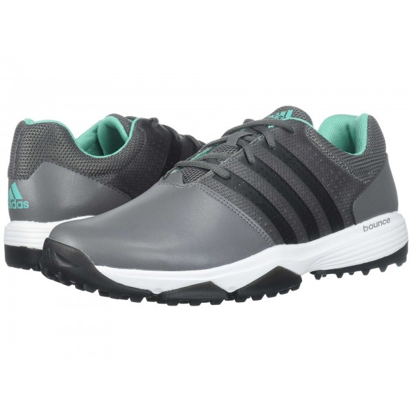 adidas Golf 360 Traxion Grey Four/Core Black/Hi Res Green