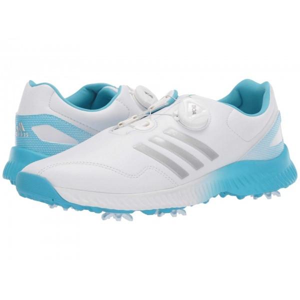 Response Bounce Boa Footwear White/Silver Metallic/Bright Cyan