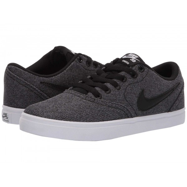 Nike SB Check Solarsoft Canvas Premium Black/Black/Gunsmoke
