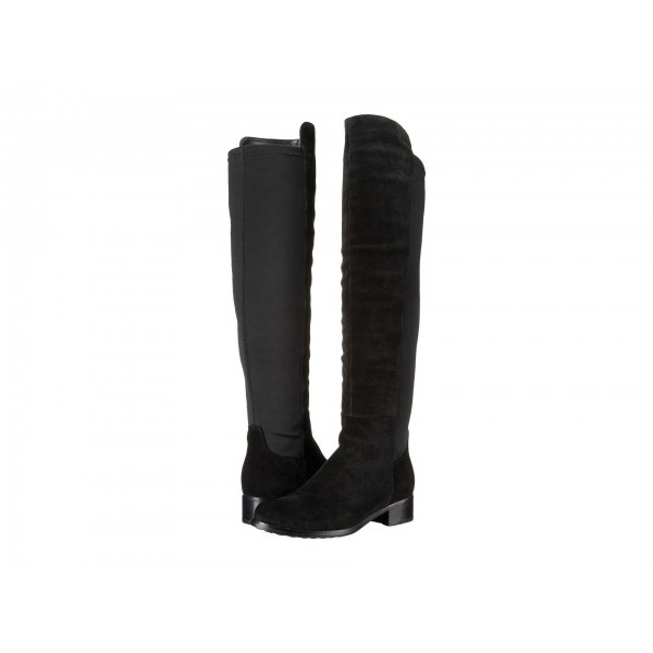 Velma Waterproof Boot Black Suede
