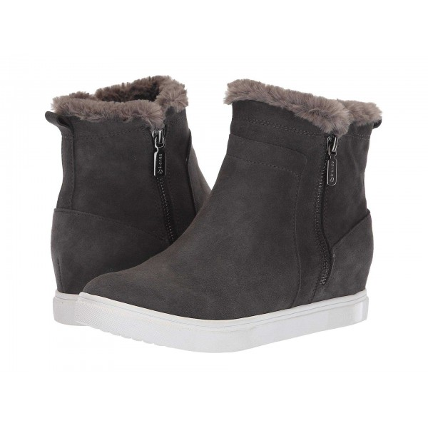 Glade Waterproof Dark Grey Suede