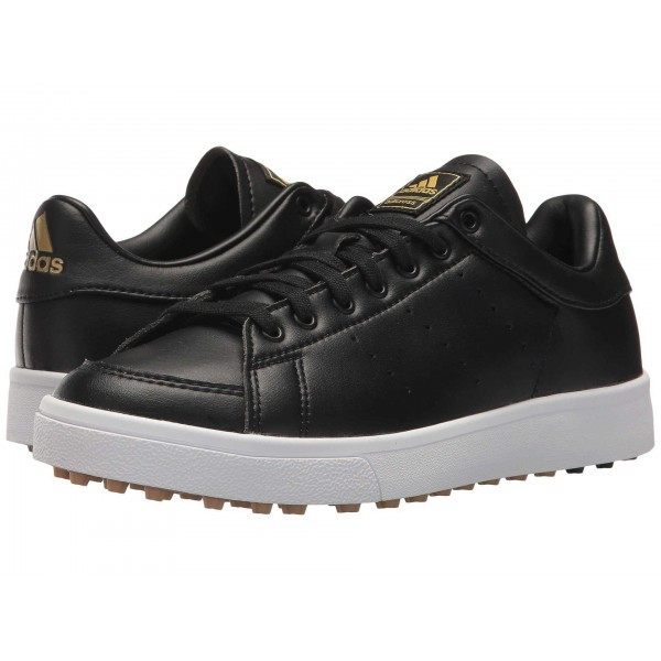 adidas Golf Jr. Adicross Classic (Little Kid/Big Kid) Core Black/Core Black/Footwear White