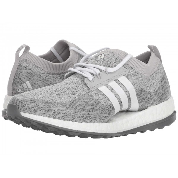 adidas Golf Pure Boost XG Grey Two/Footwear White/Night Metallic