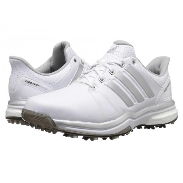 adidas Golf Adipower Boost 2 Ftwr White/Silver Metallic/Core Black